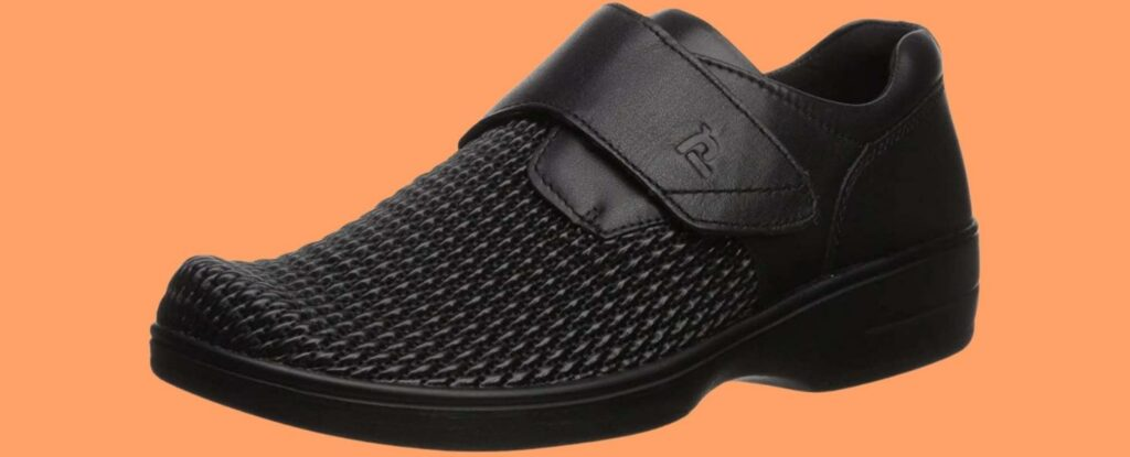 shoes like this are good options for adaptive clothing for seniors