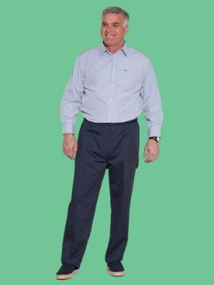 adaptive clothing like this shirt can really help older adults with disabilities.