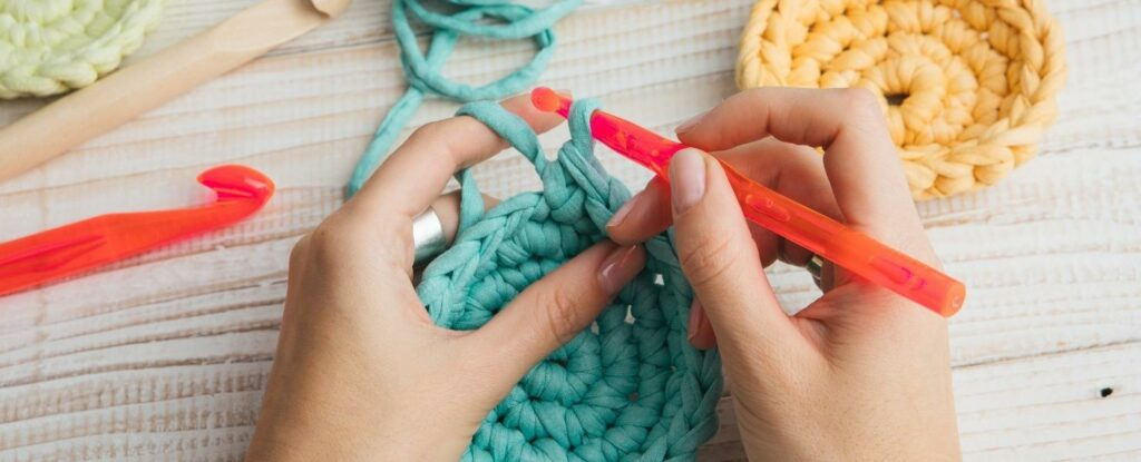 crochet is great crafting for older adults