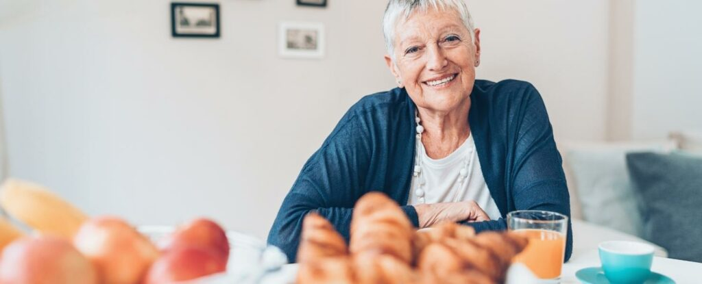 as people age you may find the need to adapt their food