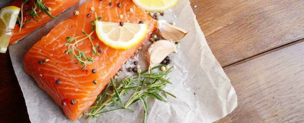 salmon is a food on the mind diet