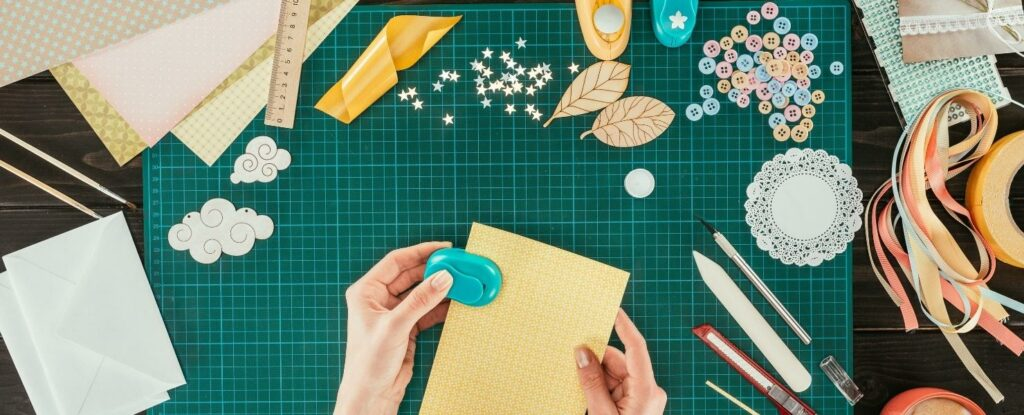 scrapbooking is a fun craft for seniors