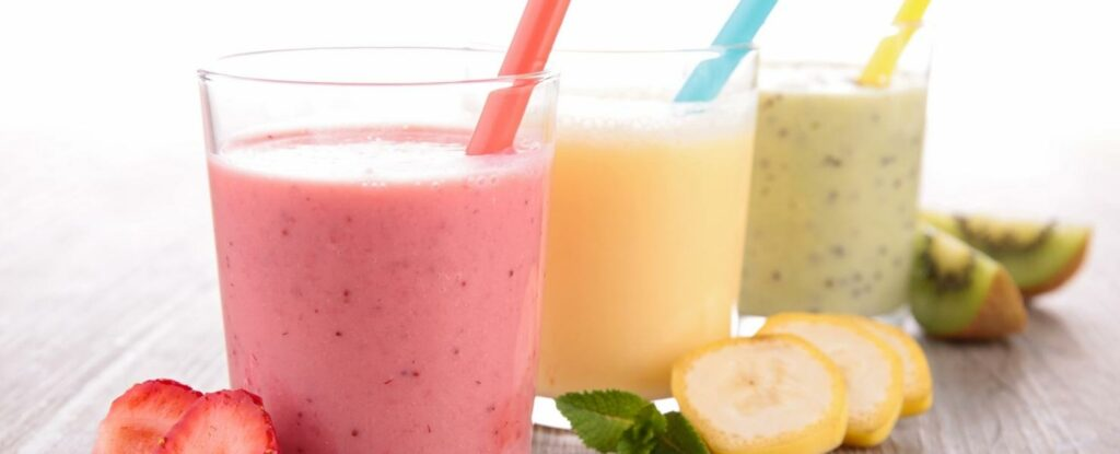 softer foods like smoothies are critical when adapting meals for older adults